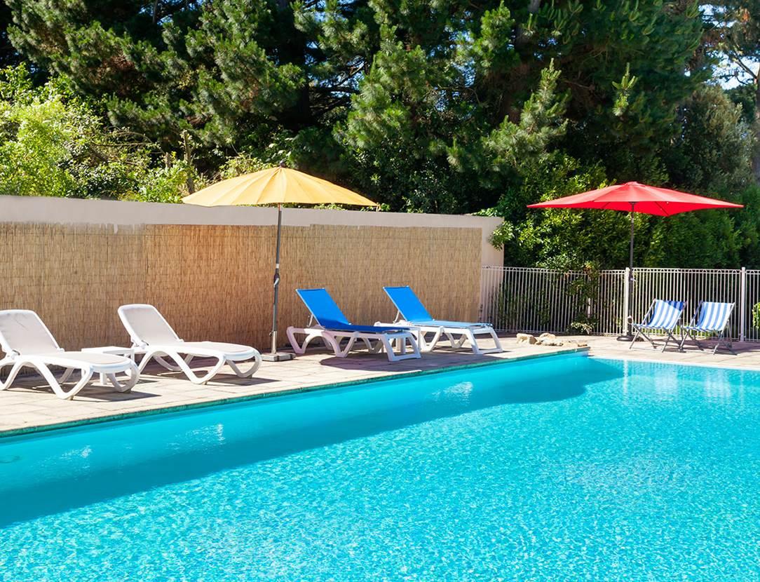 hôtel du Parc Fétan à Larmor-Baden, piscine chauffée