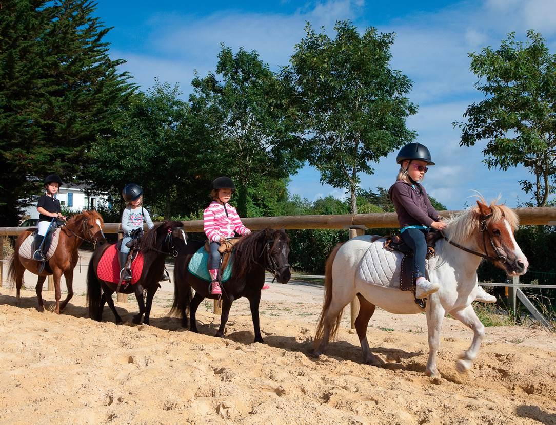 Cours d'équitation au Centre équestre sur place