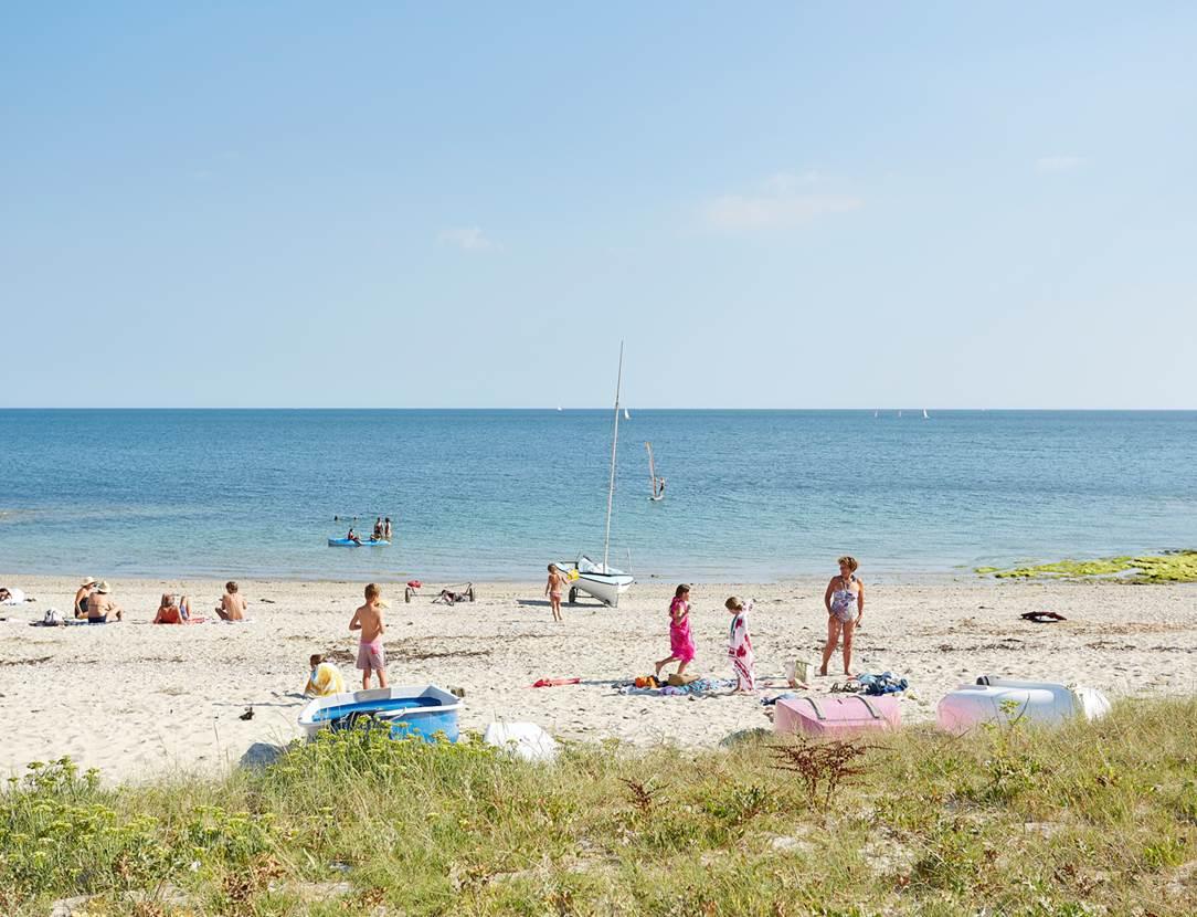 plage du Beg Lann - Sarzeau - Presqu'île de Rhuys - Golfe du Morbihan