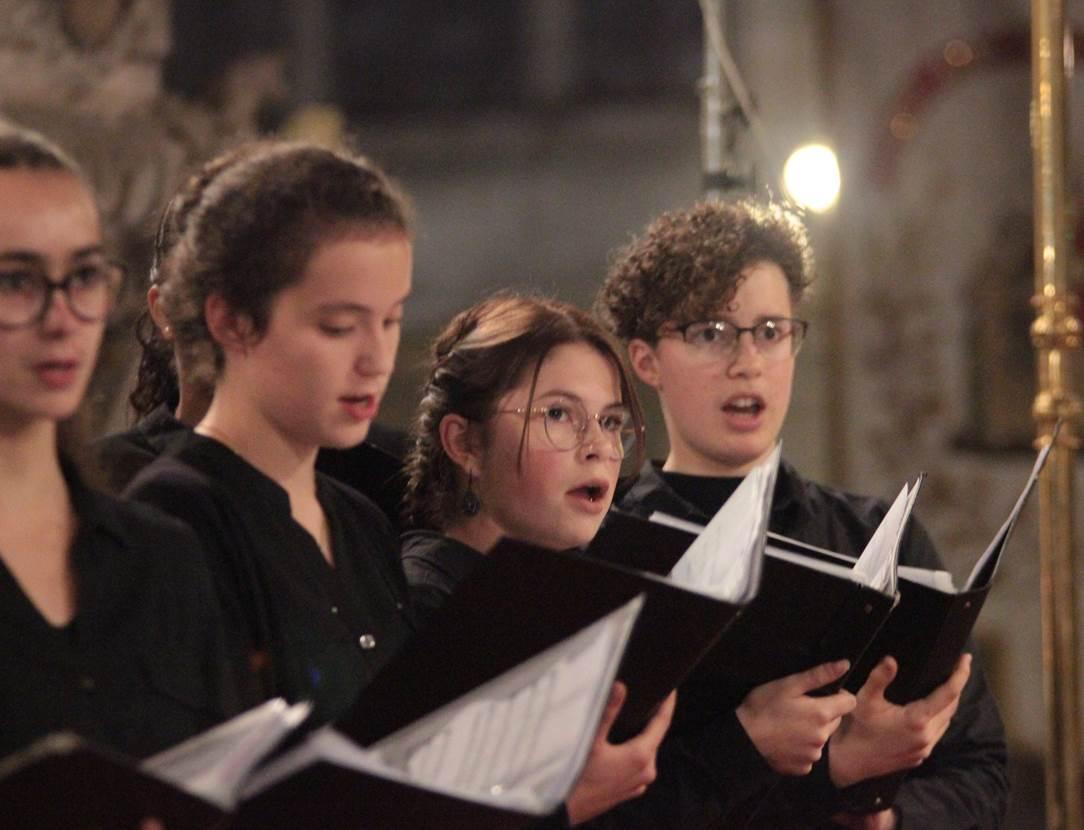 Concert Noël Maîtrise Ste Anne Auray - baden - golfe du morbihan - bretagne sud