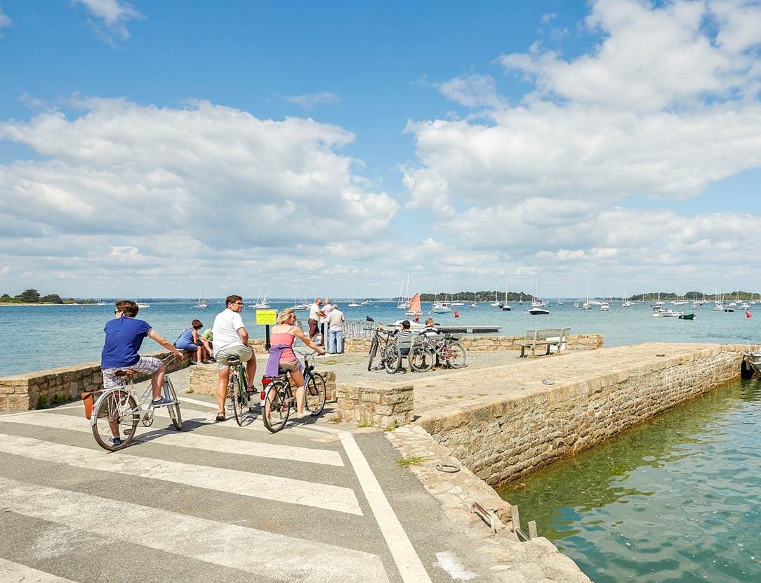 Vélo Rando Golfe - Séjour clé en main de 80 km d'itinéraires cyclables sur la Presqu'île de Rhuys
