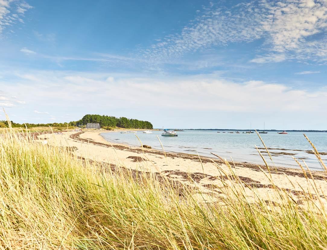 Plage Rudevent-Bilhervé-Ile d'Arz-Golfe-du-Morbihan-Bretagne sud