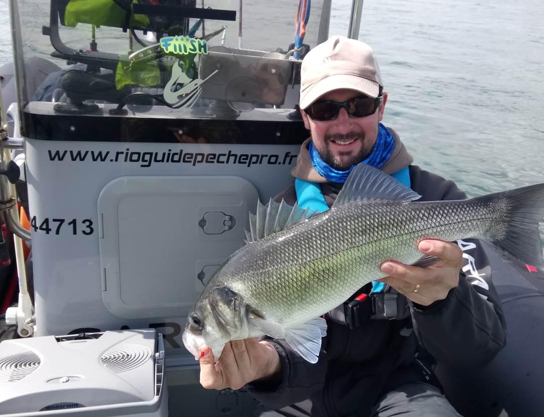 Guide de pêche Golfe du Morbihan, Sarzeau, Presqu'île de Rhuys, pêche au bar, réservervation en ligne de votre journée de pêche