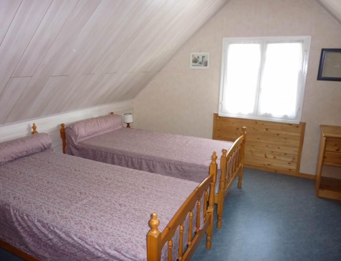 LE YONDRE Roger - Maison Saint-Gildas de Rhuys chambre - Morbihan Bretagne Sud