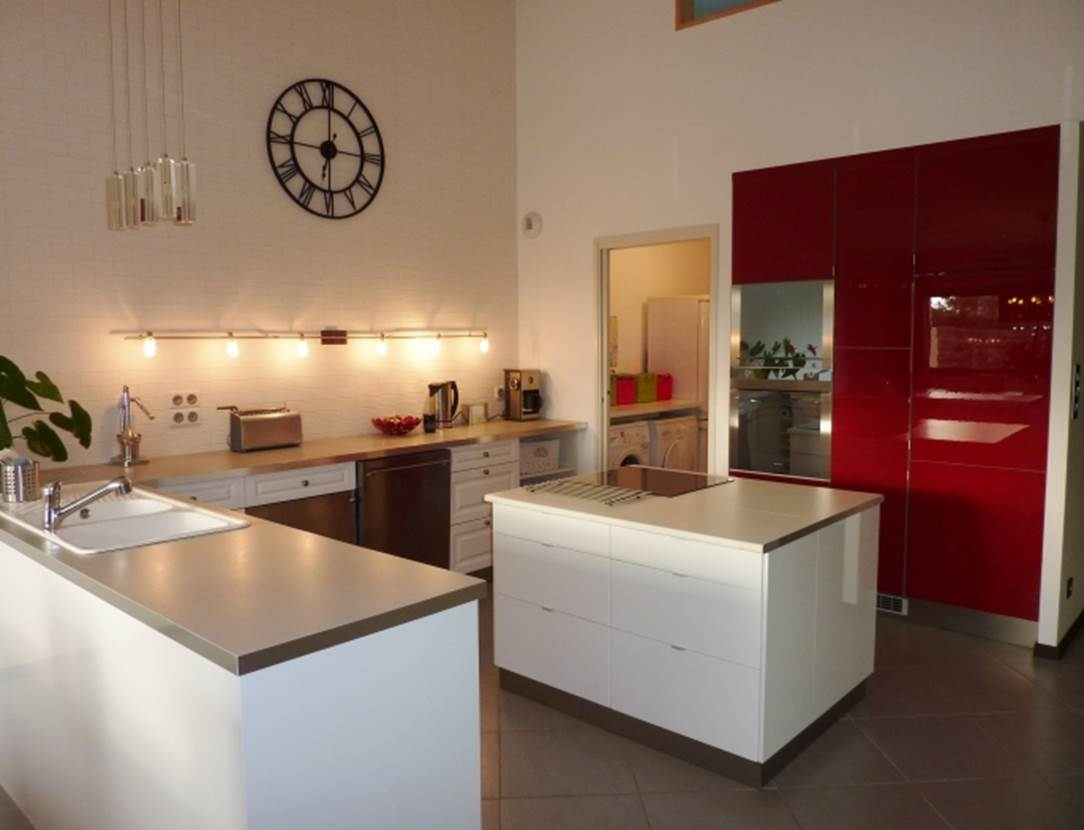 RIO Nathalie - Maison Saint-Gildas de Rhuys cuisine - Morbihan Bretagne Sud