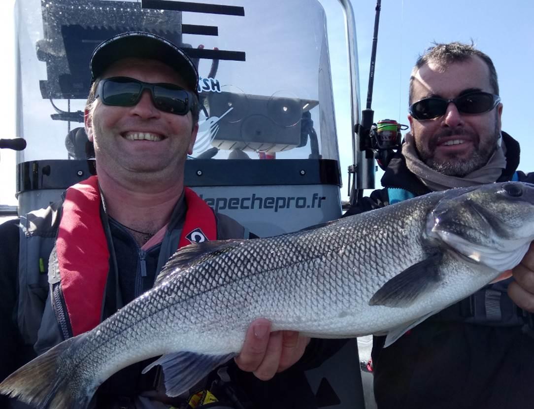 Guide de Pêche Morbihan - Golf du Morbihan - Sortie peche en mer- Guide de peche Sarzeau