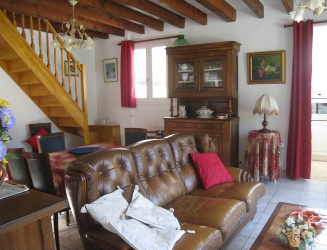 LE FUR Marie-Aurélie - Maison Saint-Gildas de Rhuys salon - Morbihan Bretagne Sud
