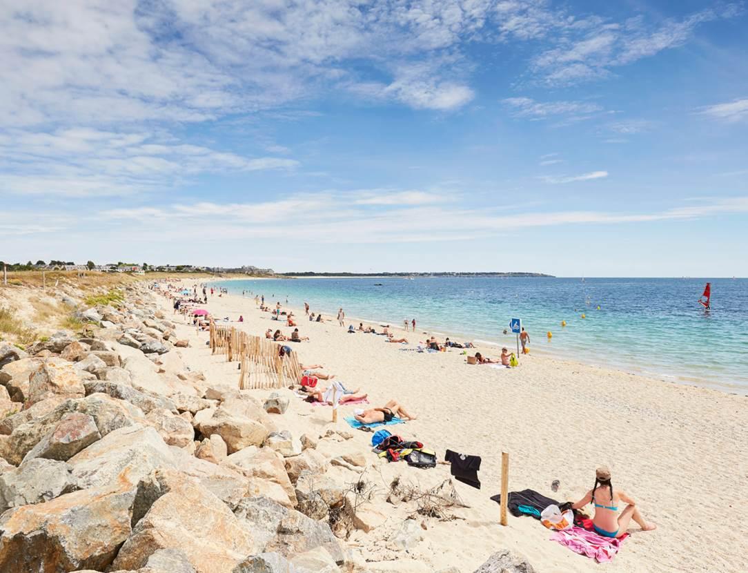plage du Fogeo à Arzon - Presqu'île de Rhuys - Golfe du Morbihan