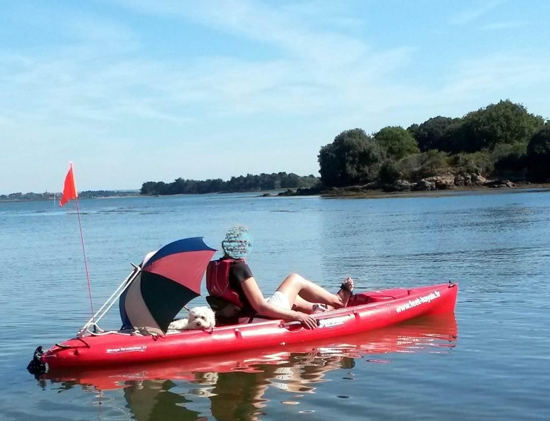 Feet-Kayak-Jazz-et-Parapluie-Sarzeau-Golfe-du-Morbihan-Bretagne sud