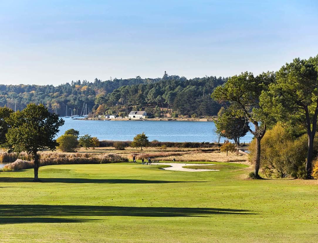 Golf-Blue-Green-Baden-Golfe-du-Morbihan-Bretagne sud