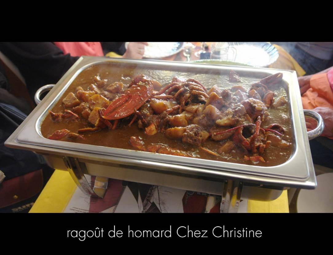 Ragout-homard-table-d-hôte-chez-christine-arzon-morbihan-bretagne sud