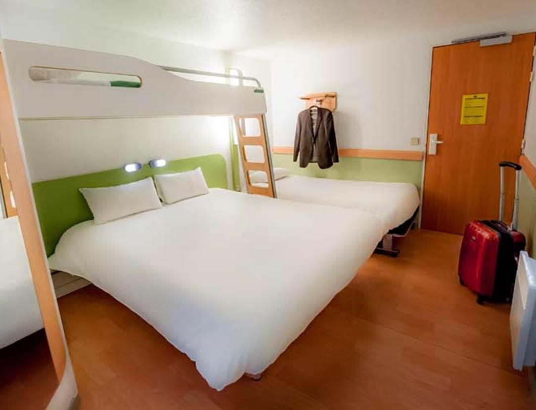 HOTEL #IBIS #BUDGET #VANNES #PLOEREN #CHAMBRE #FAMILIALE
