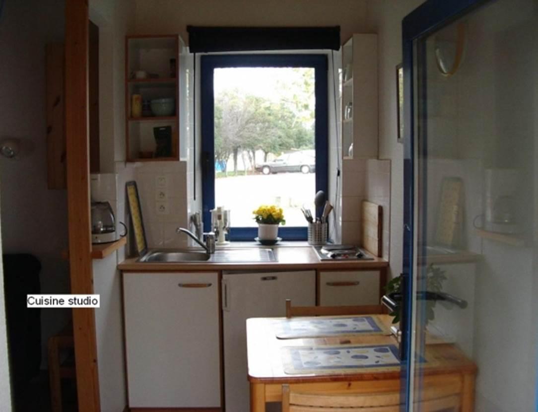 LEPOITTEVIN Gilberte - Studio Saint-Gildas de Rhuys cuisine - Morbihan Bretagne Sud