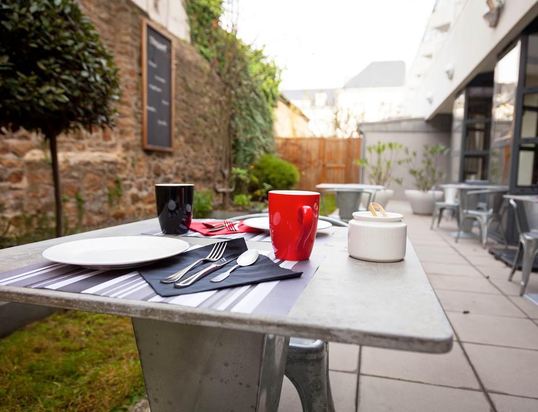 Terrasse restaurant Côté Patio Vannes