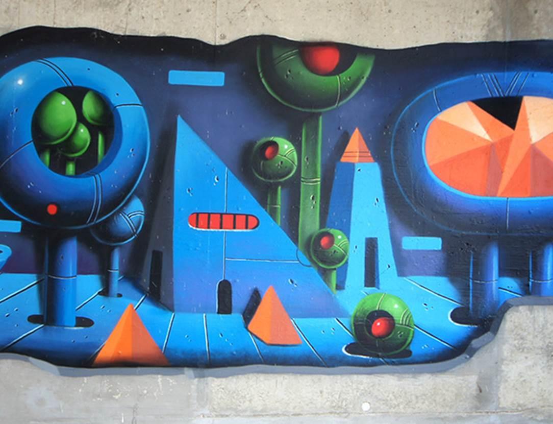 découvrir vannes par le street art-centre ville-golfe du morbihan-bretagne sud