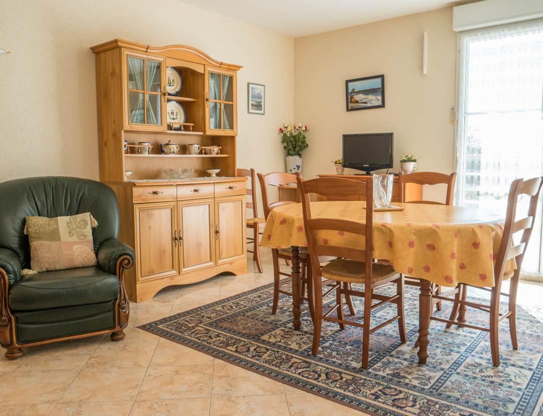 LE DIAGON Rose - Appart Sarzeau salon - Morbihan Bretagne Sud