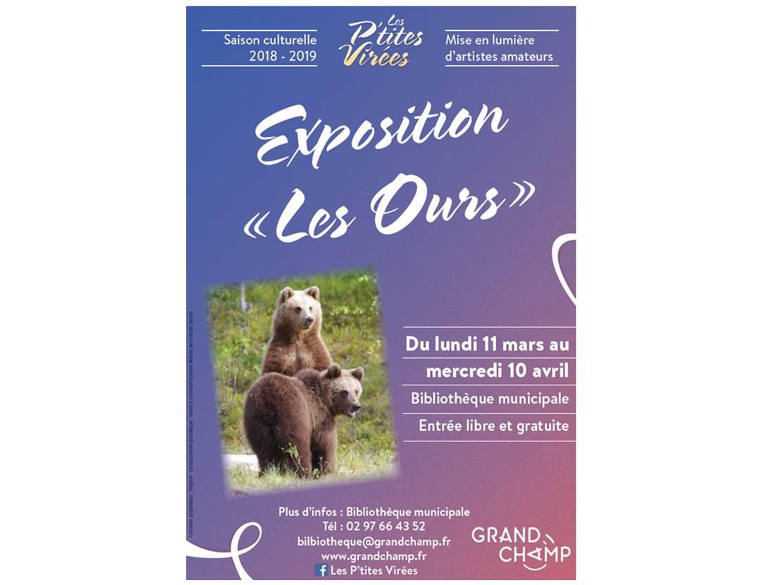Exposition-Les-Ours-Grand-Champ-Golfe-du-Morbihan-Bretagne sud