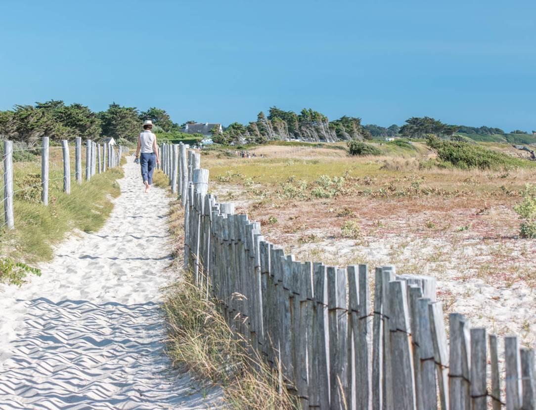 plage du Kerver - Arzon - Presqu'île de Rhuys - Golfe du Morbihan