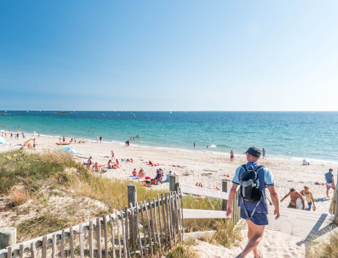 plage du Kerver - Saint-Gildas de Rhuys - Presqu'île de Rhuys - Golfe du Morbihan