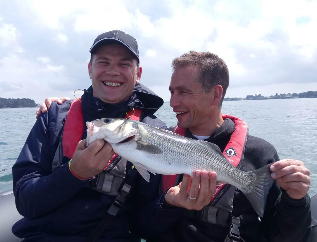 Gilles et François, tous les deux bénévoles au Tiken Trail sont venus se mesurer au Bar du Golfe !