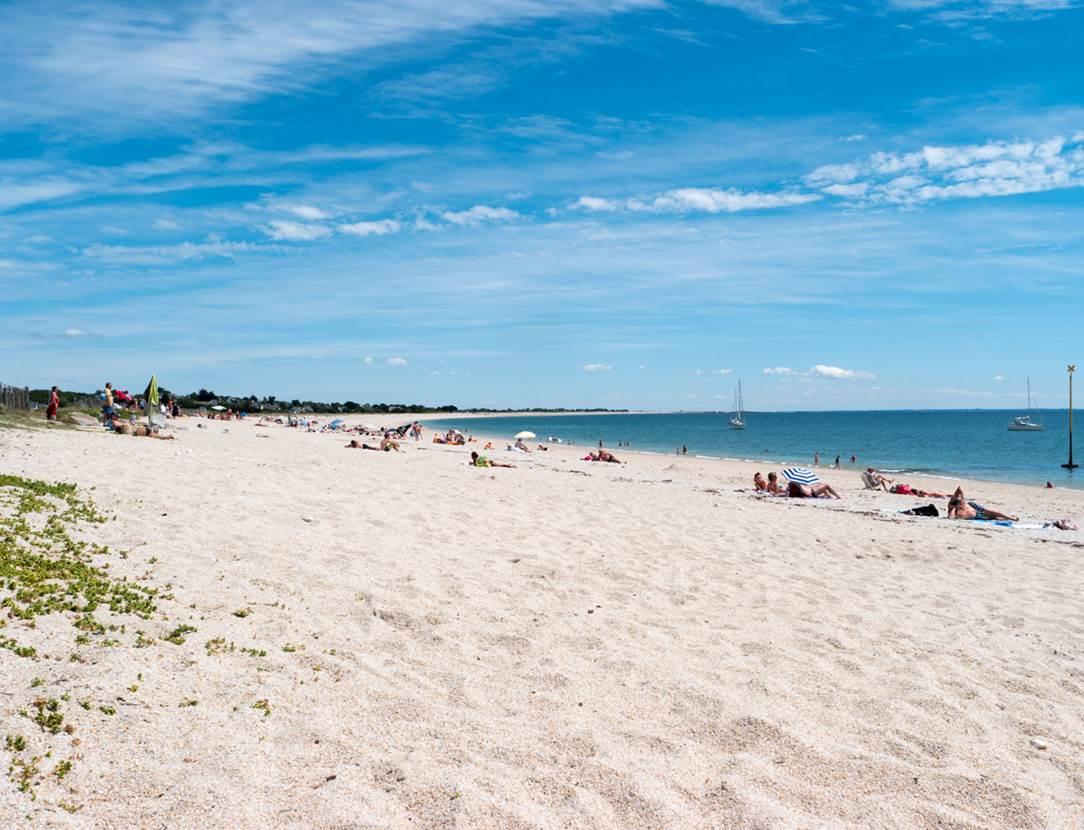 plage de Landrézac - Sarzeau - Presqu'île de Rhuys - Golfe du Morbihan