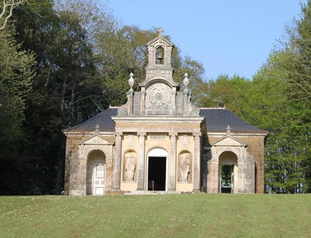 Chapelle-Domaine-de-Kerlevenan-Sarzeau-Presqu'île-de-Rhuys-Golfe-du-Morbihan-Bretagne sud
