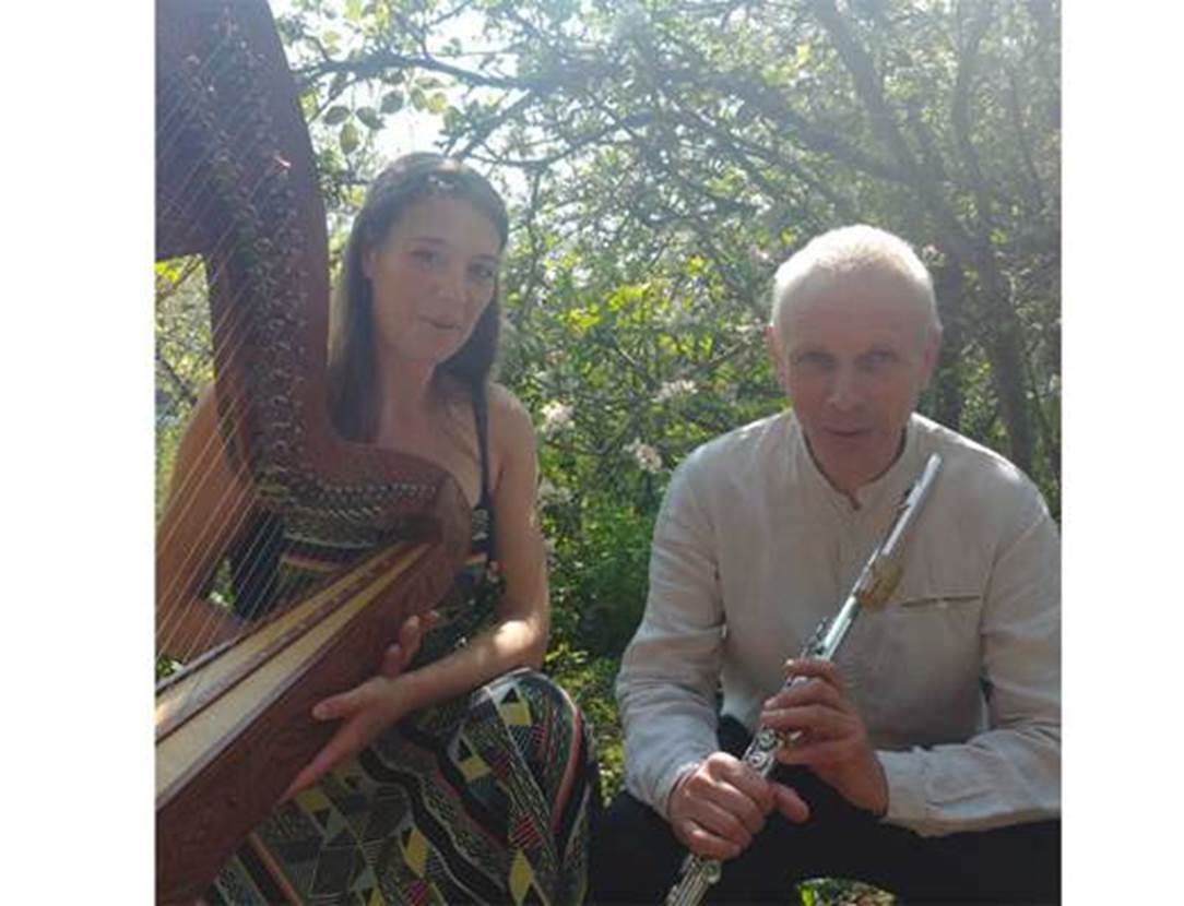 duo nygma-flute-harpe-arradon-golfe du morbihan-bretagne sud