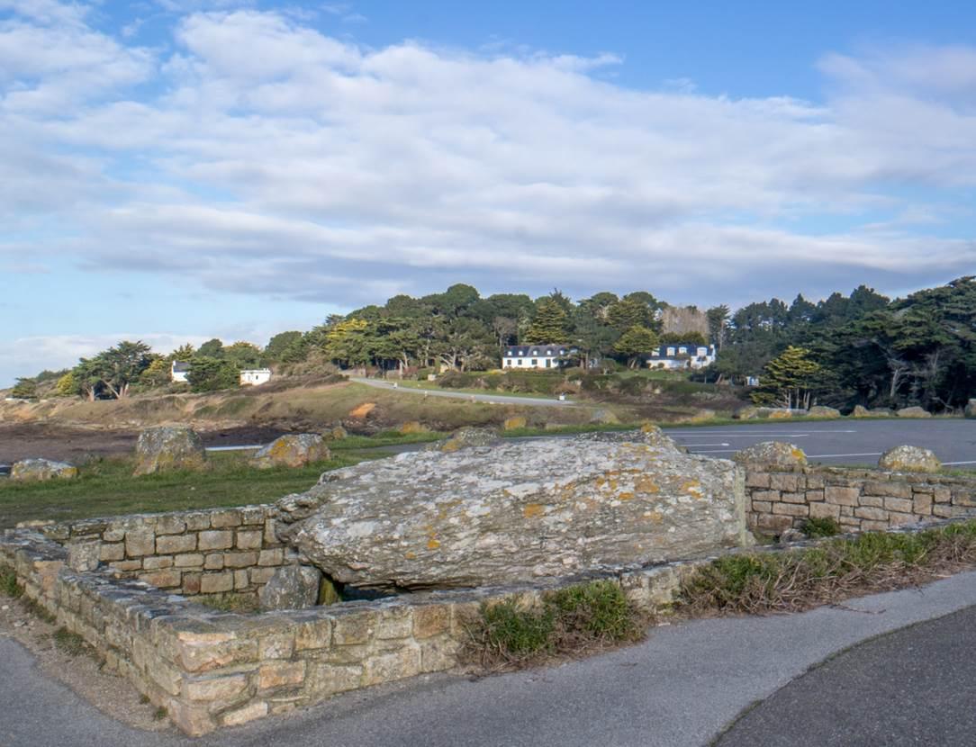Dolmen de Men Maria - Saint-Gildas de Rhuys - Morbihan - Bretagne Sud