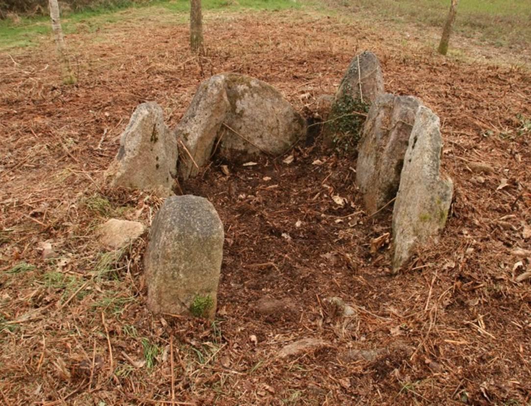 Dolmen Lost er Lenn Morbihan-Bretagne-sud