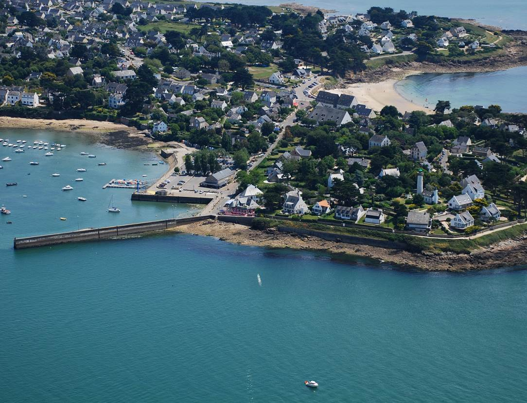Vue-Golfe-Le-Ptit-Zeph-Port-Navalo-Arzon-Presqu'île-de-Rhuys-Golfe-du-Morbihan-Bretagne sud