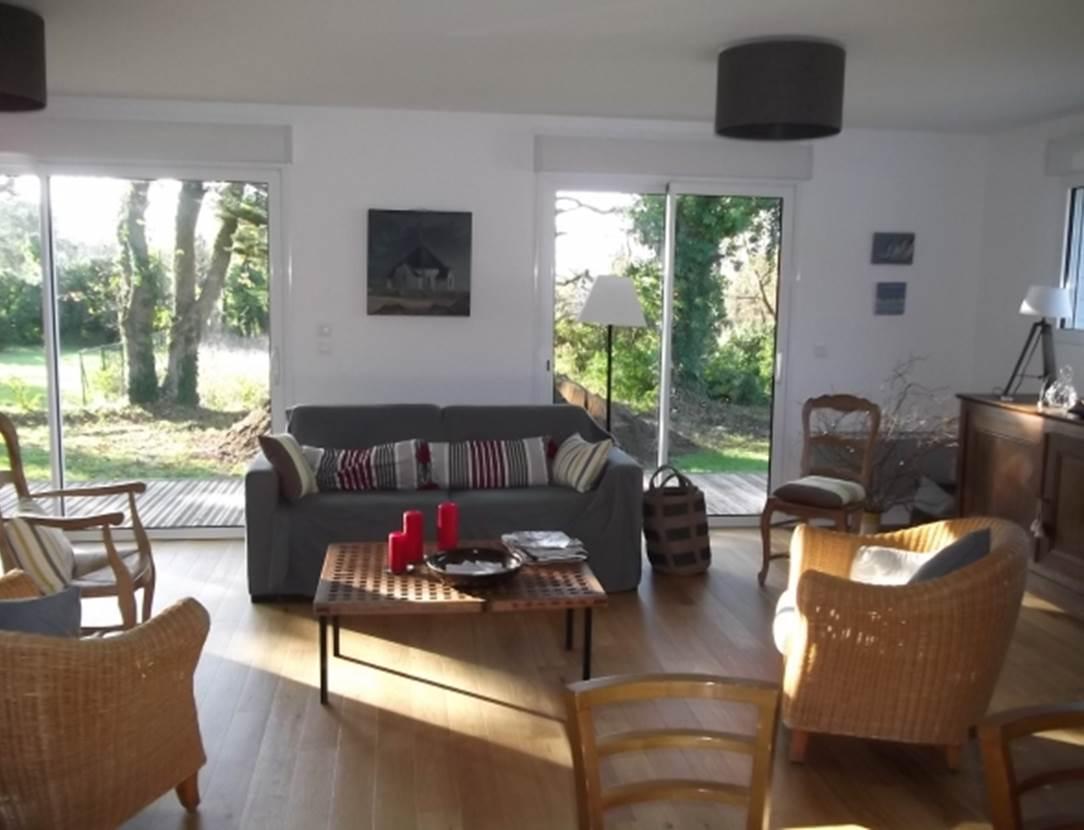SCHVARTZ Catherine - Maison Sarzeau salon - Morbihan Bretagne Sud