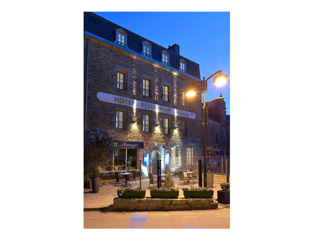 Façade-Restaurant-Lesage-Sarzeau-Presqu'île-de-Rhuys-Golfe-du-Morbihan-Bretagne sud