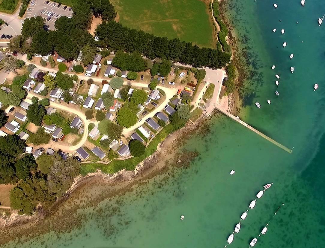 Camping-Le-Bilouris-Aérien-Arzon-Presqu'île-de-Rhuys-Golfe-du-Morbihan-Bretagne sud
