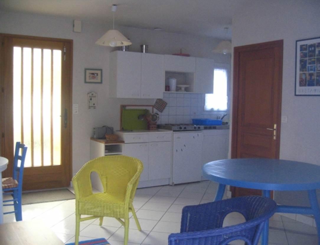JACQUES Bernard - Maison Saint-Gildas de Rhuys salon - Morbihan Bretagne Sud