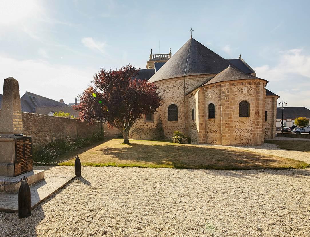Abbatiale de Saint-Gildas de Rhuys - Morbihan - Bretagne Sud