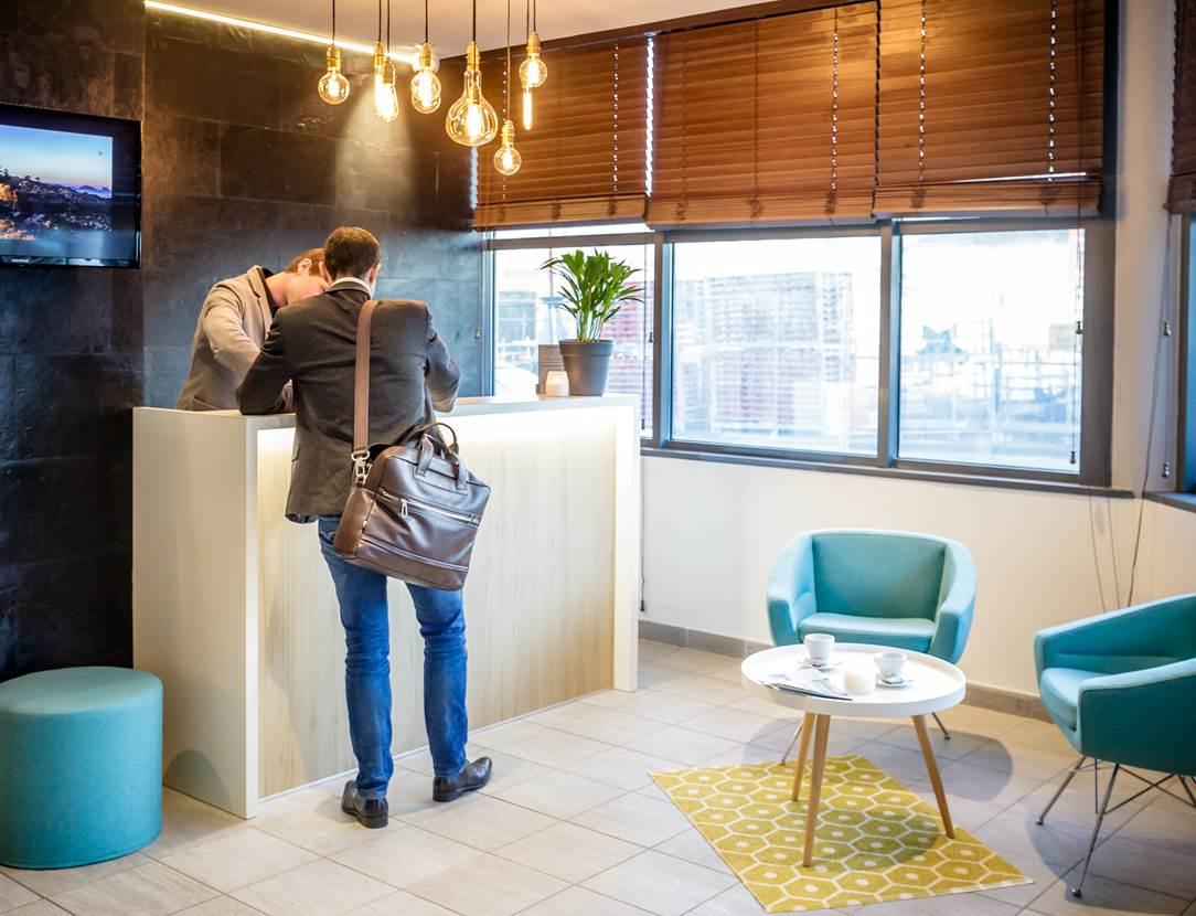 Réception hôtel BEST WESTERN PLUS Vannes centre-ville Morbihan Bretagne Sud
