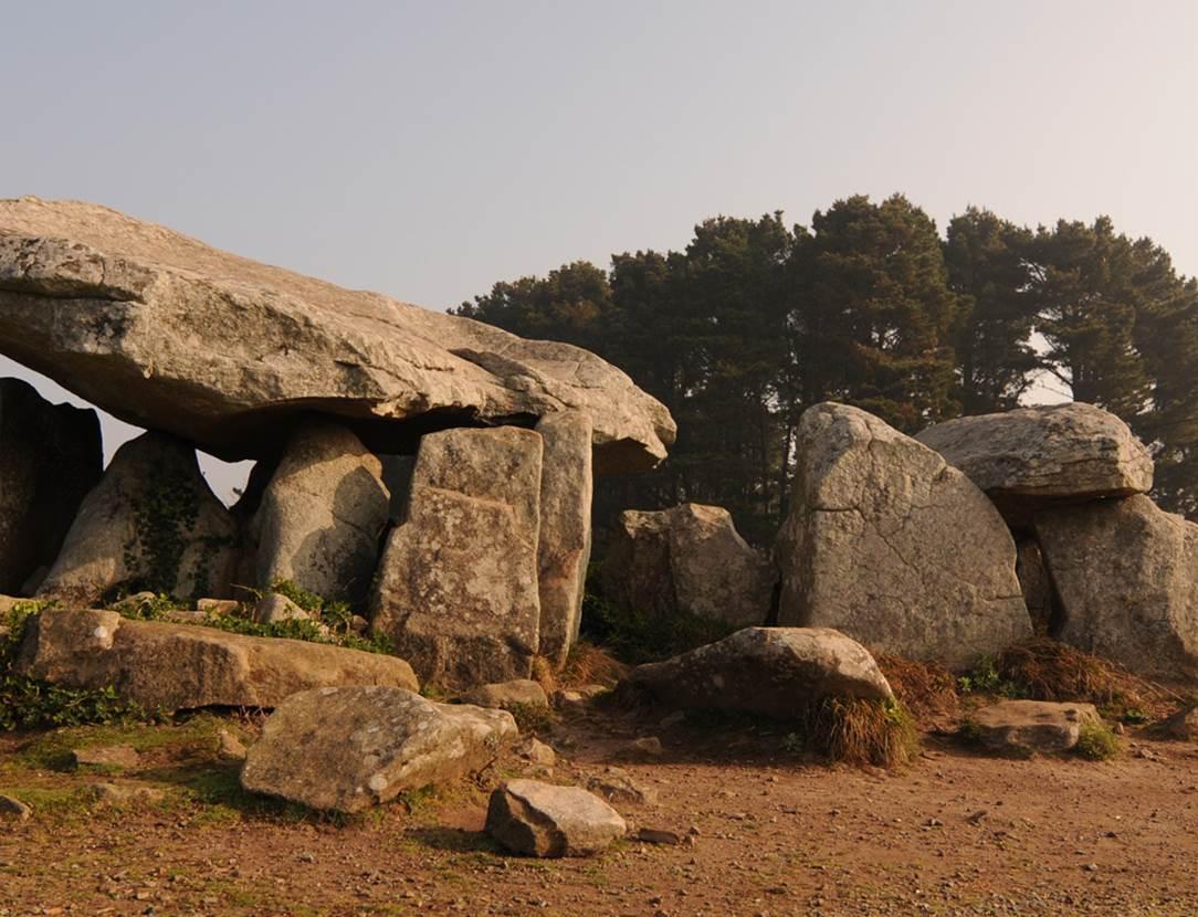 Dolmen de Penhap Ile Aux Moines - Morbihan Bretagne sud (1)