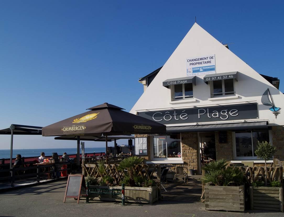 Restaurant-Côté-Plage-Le-Roaliguen-Sarzeau-Golfe-du-Morbihan-Bretagne sud