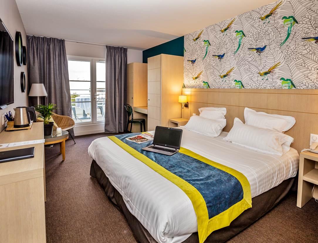 Chambre duplex hôtel BEST WESTERN PLUS Vannes centre-ville