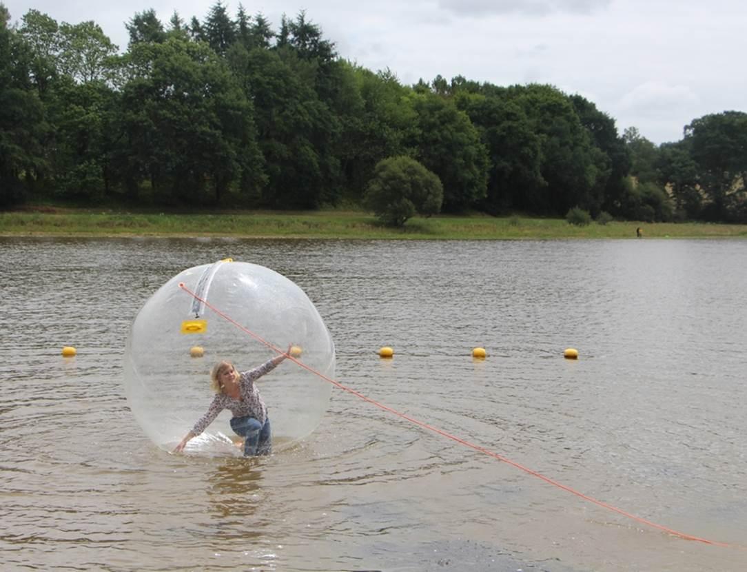 Water bulle Base de loisirs du Moulin Neuf - Morbihan Bretagne Sud