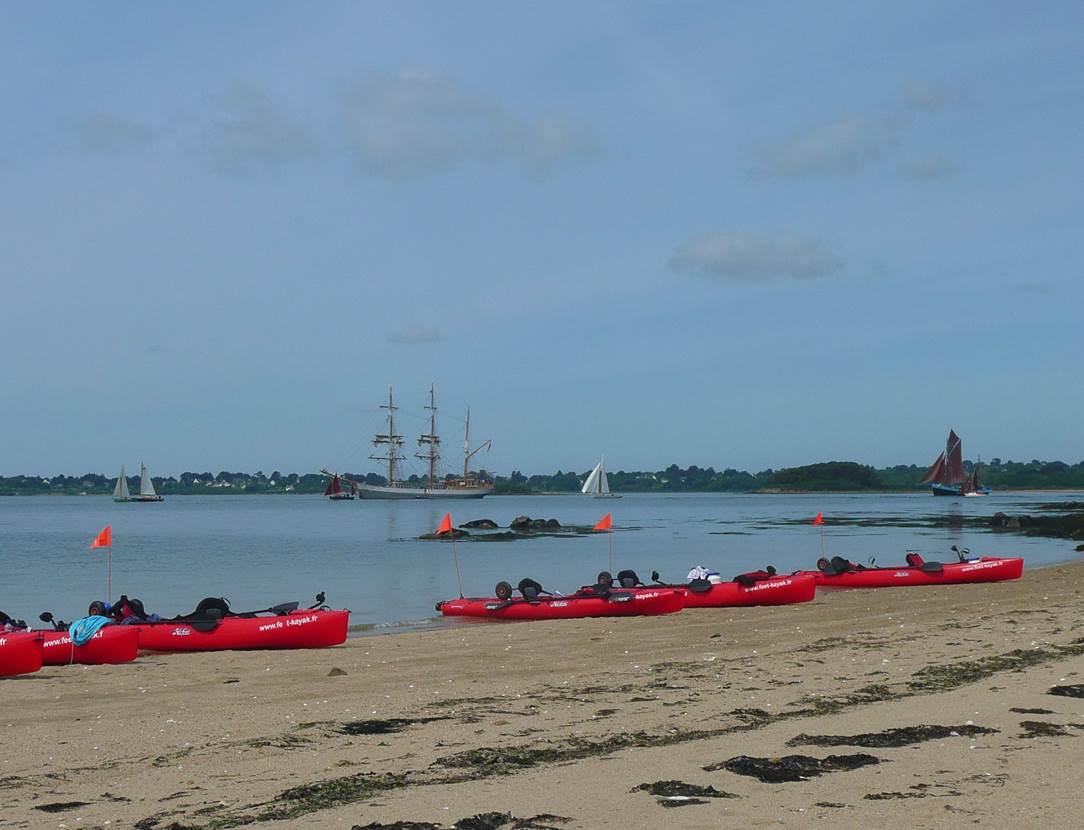 Feet-Kayak-Balade-Ile-Arz-Sarzeau-Golfe-du-Morbihan-Bretagne sud