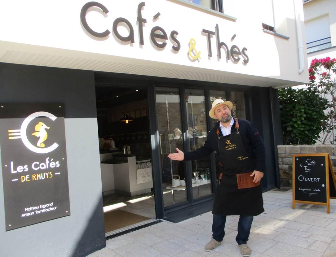Les-Cafés-de-Rhuys-Arzon-Presqu'île-de-Rhuys-Golfe-du-Morbihan-Bretagne sud