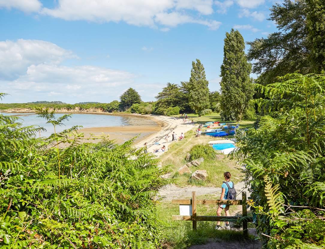 plage des fontaines - Arzon - Presqu'île de Rhuys - Golfe du Morbihan