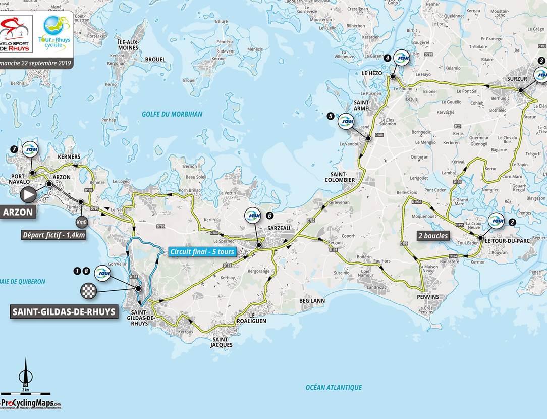 Tour-de-Rhuys-2019-Presqu'ile-de-Rhuys-Golfe-du-Morbihan-Bretagne sud