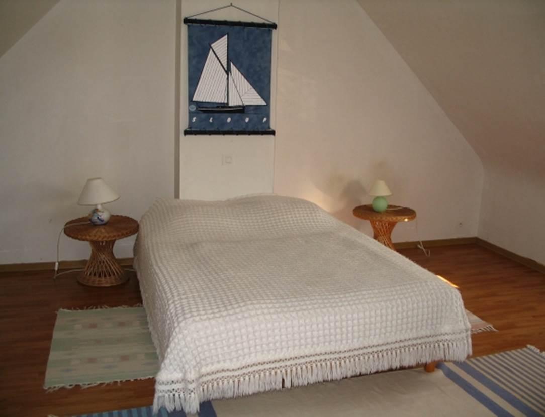 JACQUES Bernard - Maison Saint-Gildas de Rhuys chambre - Morbihan Bretagne Sud