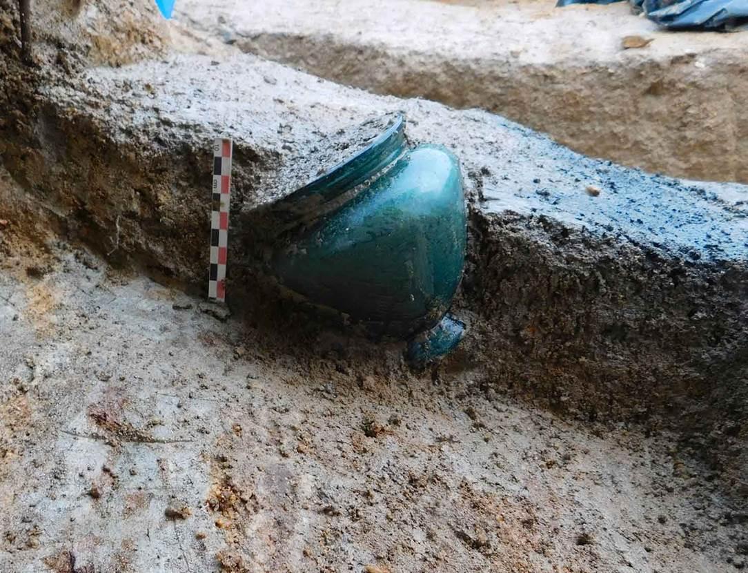 exposition-necropole romaine-chateau gaillard-musee d'archéologie et histoire-vannes-golfe du morbihan-bretagne sud