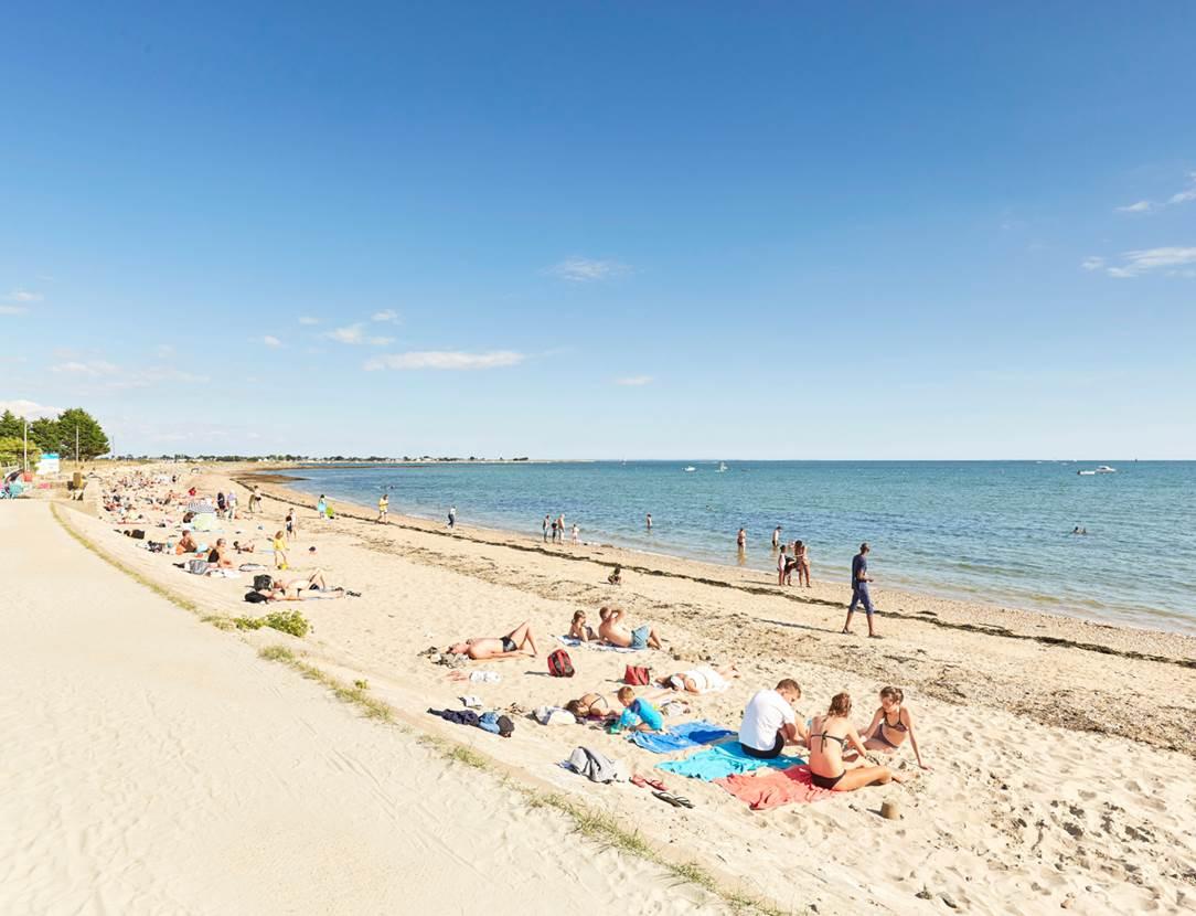 plage du Rouvran - Le Tour du Parc - Presqu'île de Rhuys - Golfe du Morbihan