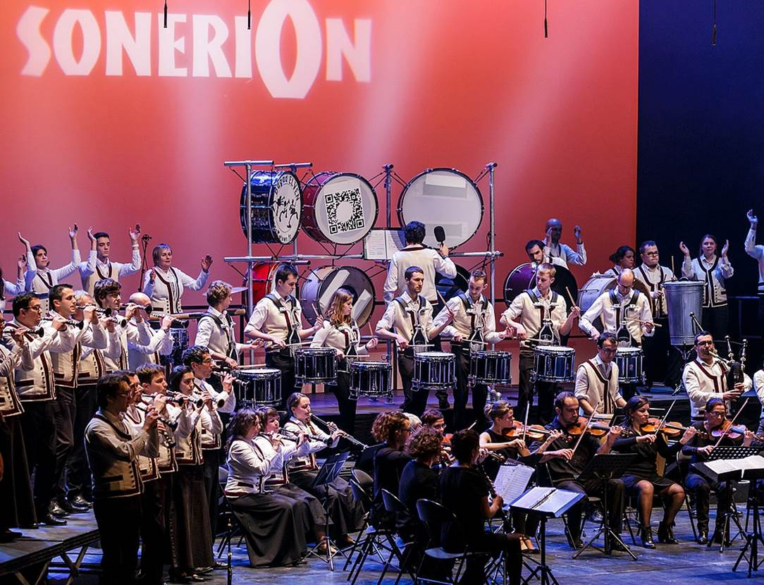 Concert-exceptionnel-Bagad-Elven-Golfe-du-Morbihan-Bretagne Sud