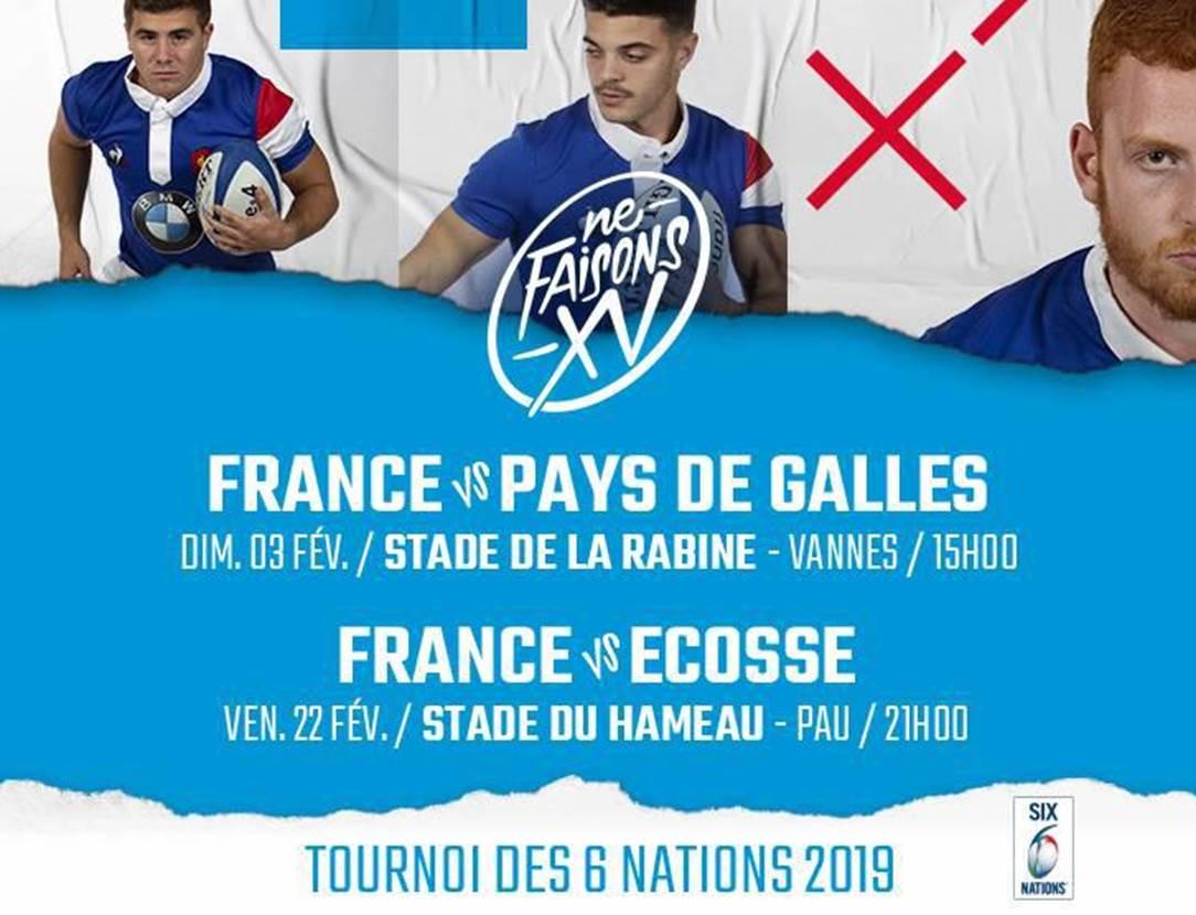 rugby-tournoi des 6 nations u20-france-pays de galles-vannes-golfe du morbihan-bretagne sud