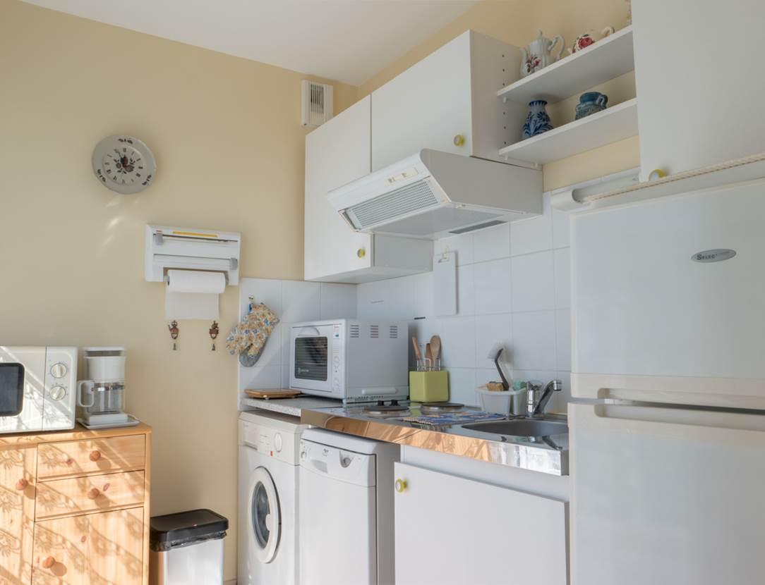 LE DIAGON Rose - Appart Sarzeau cuisine - Morbihan Bretagne Sud